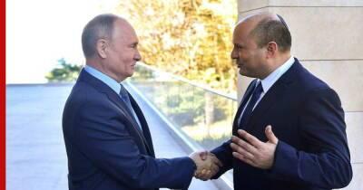 Владимир Путин пригласил премьер-министра Израиля посетить Санкт-Петербург