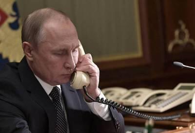 Путин пригласил президента Израиля в Санкт-Петербург